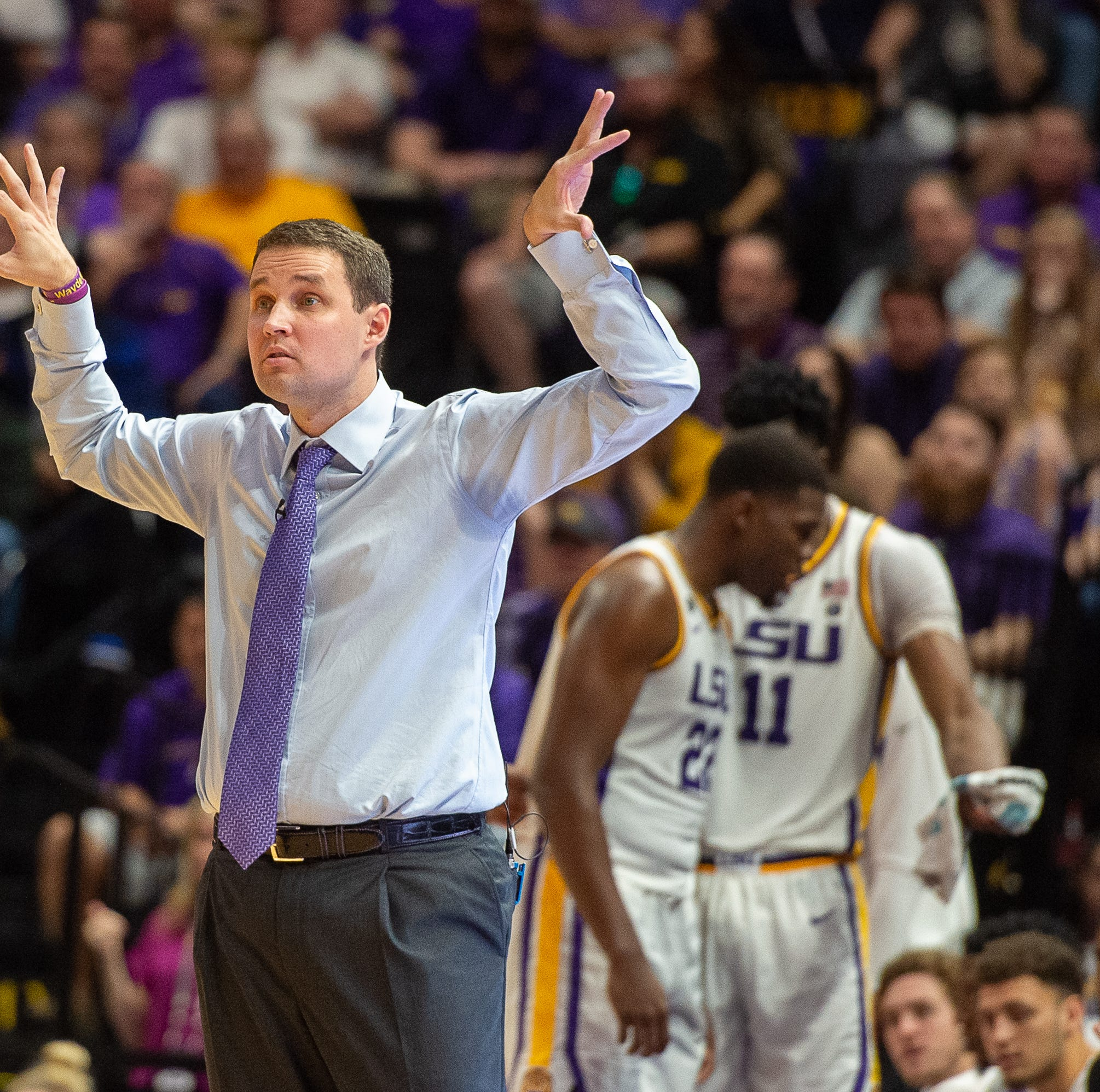 Wow! Why the sudden change of heart for LSU coach Will Wade? Could it be the $10 million?