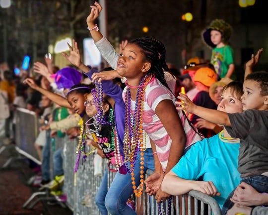 Rio Mardi Gras arade in Lafayette, LA. 2/23/19