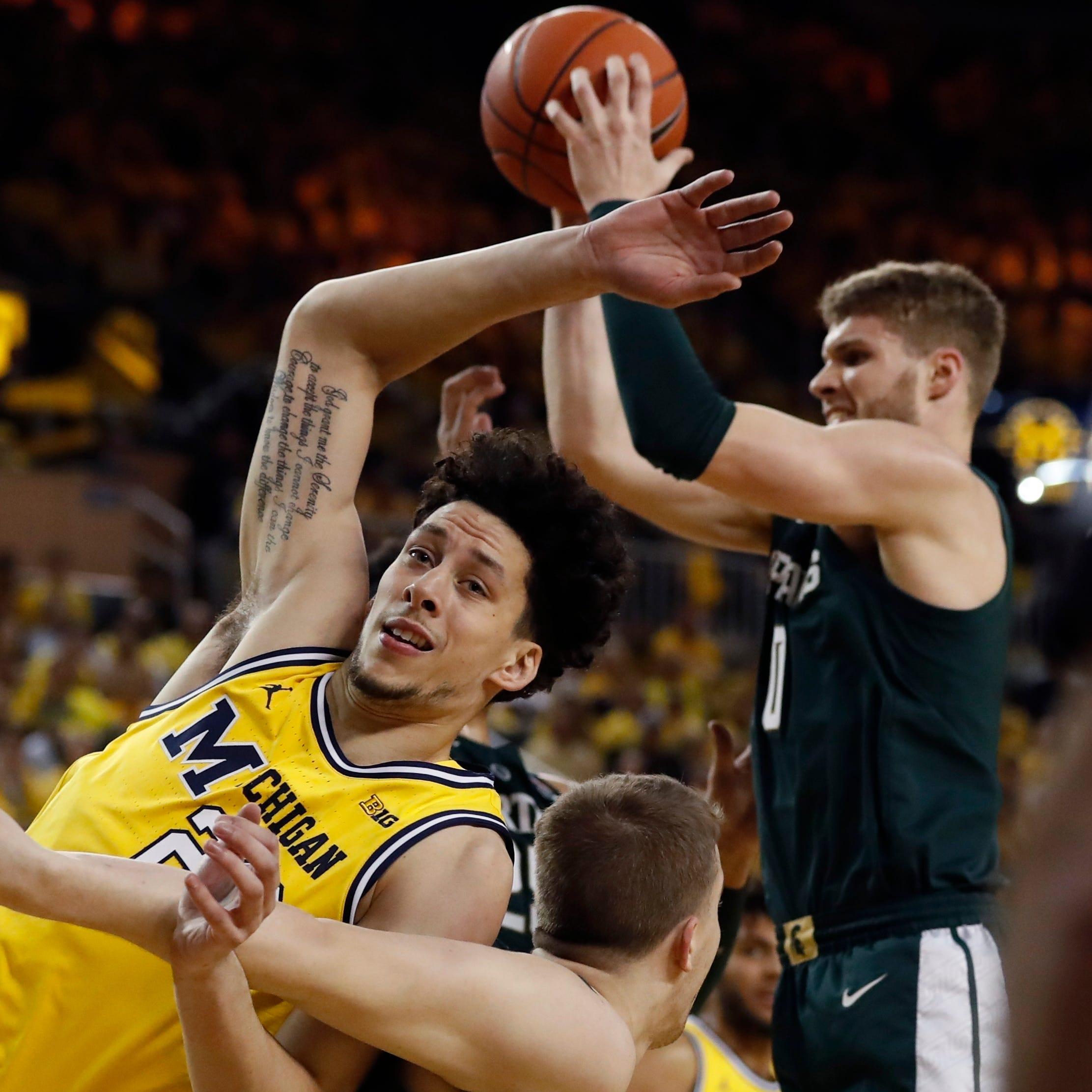 Breslin a familiar place for Michigan basketball's ex-East Lansing star Brandon Johns