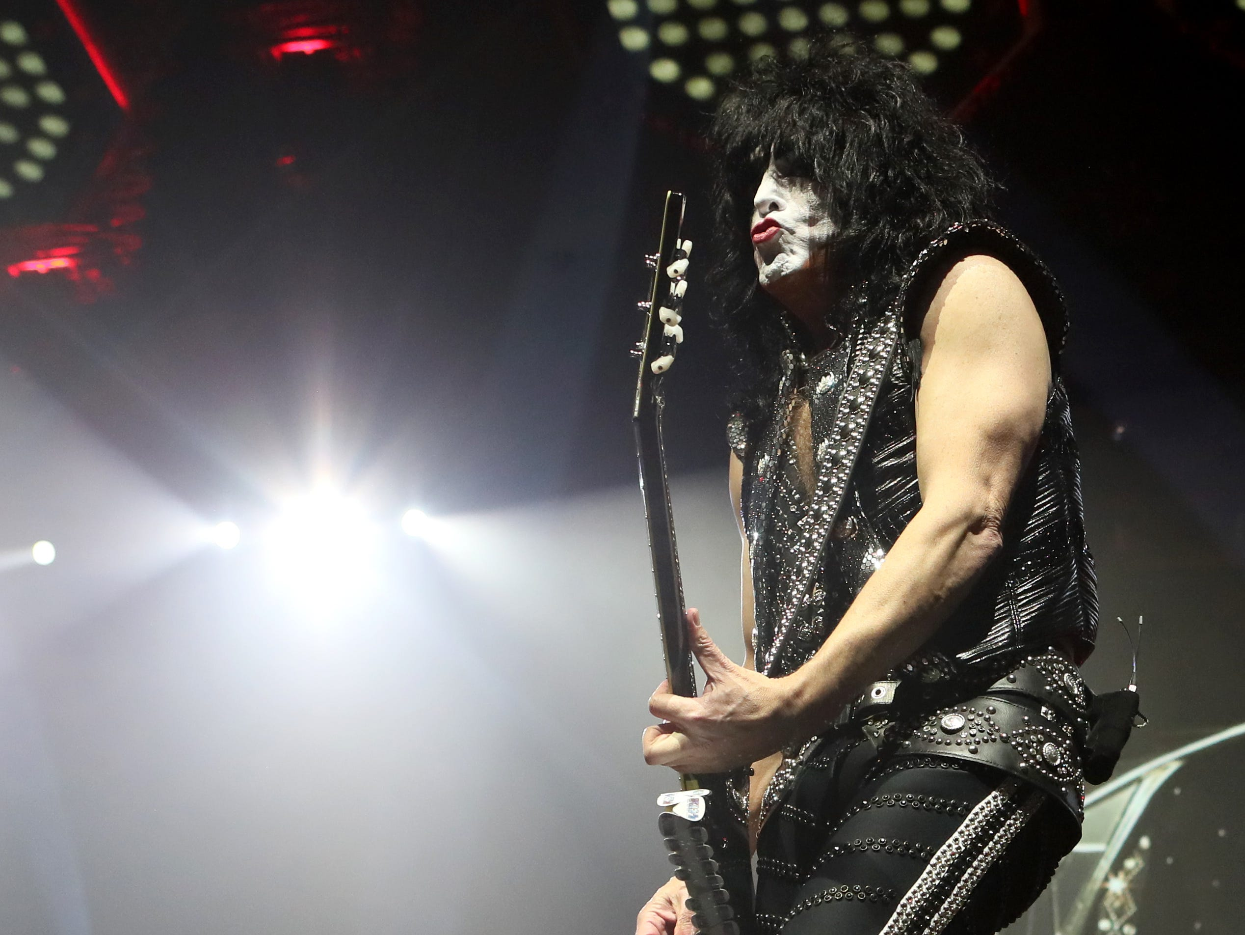 KISS performs their End of the Road World Tour at the FedExForum on Saturday, Feb. 23, 2019.