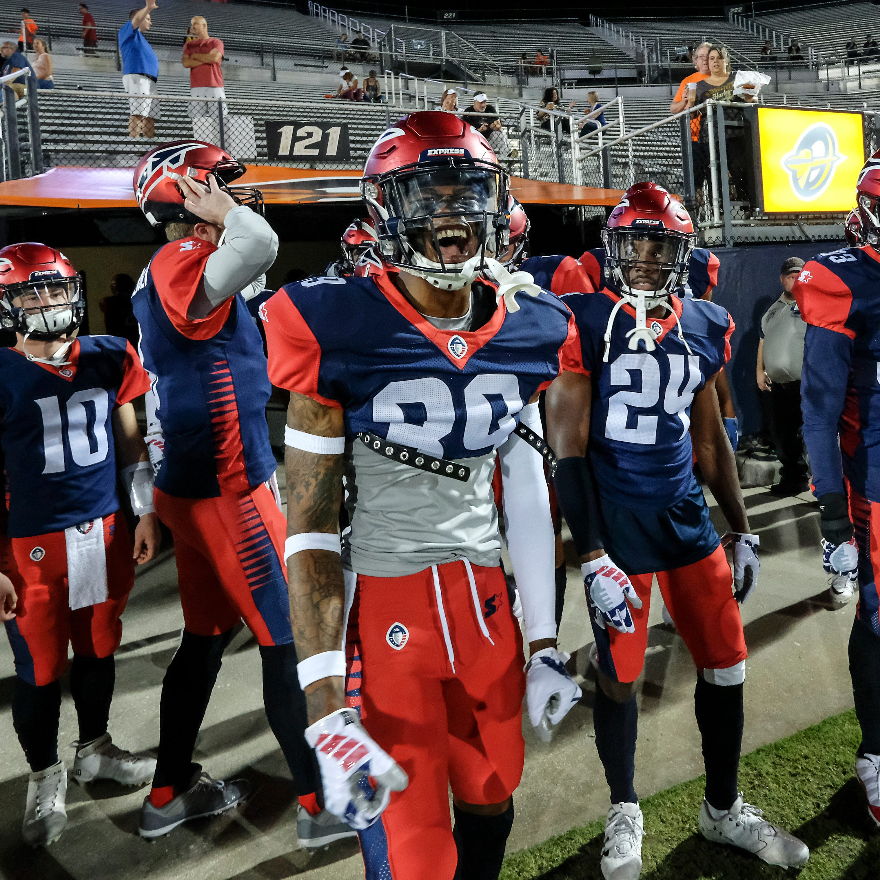 The Memphis Express face the Orlando Apollos on the road Saturday | live updates