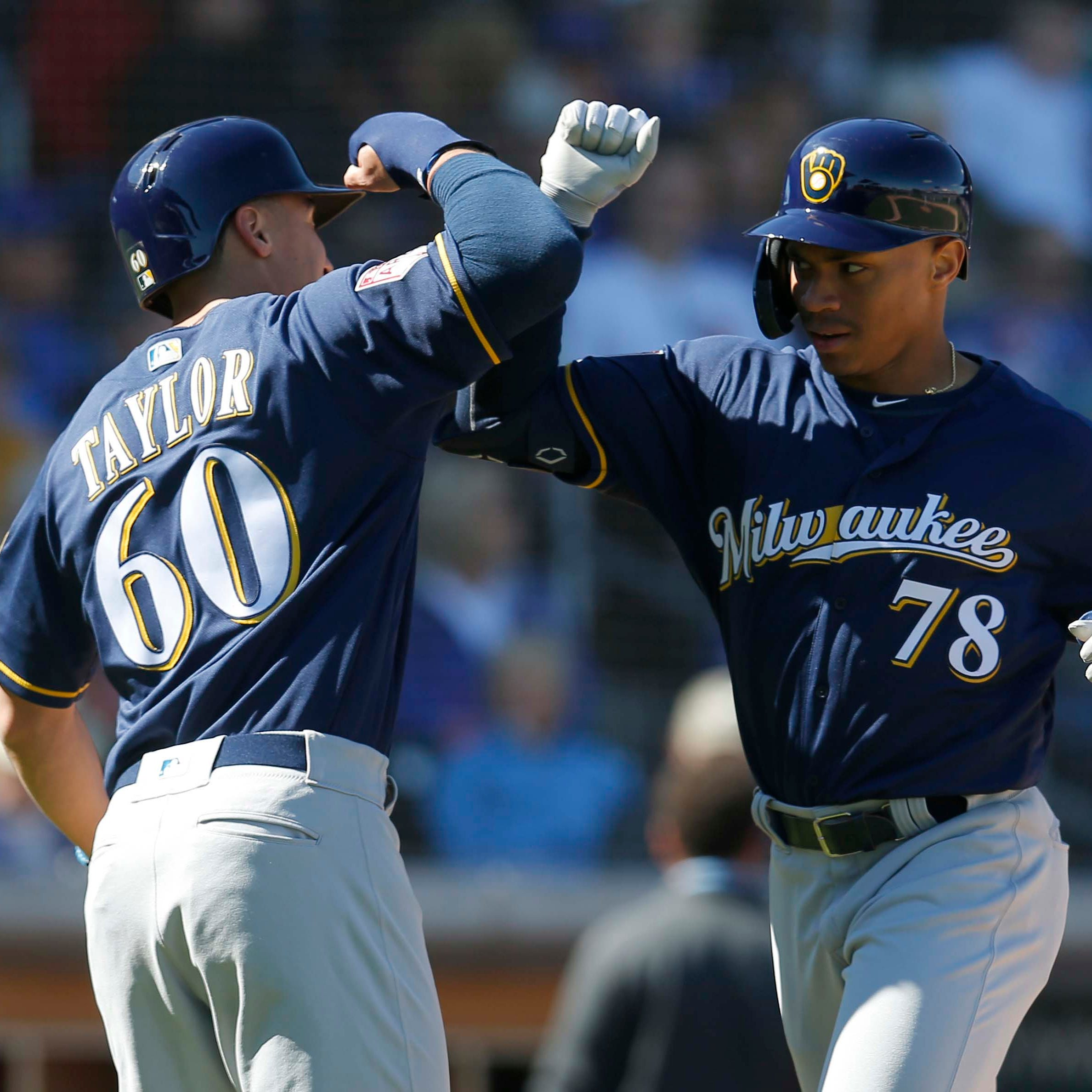 Camp report: Youngsters lead the way for the Brewers in 8-4 loss to the Cubs