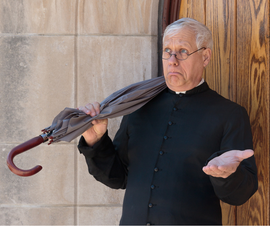 """St. Mark's Church on Milwaukee's east side is the scene of an interactive murder play in """"A Father Brown Mystery."""""""