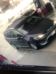 The suspects' vehicle is a black, Chrysler Pacifica with a license plate of 521-XPZ.