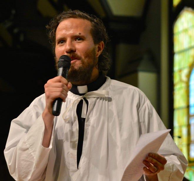 Grace Lutheran Church pastor Jonathan Barker.
