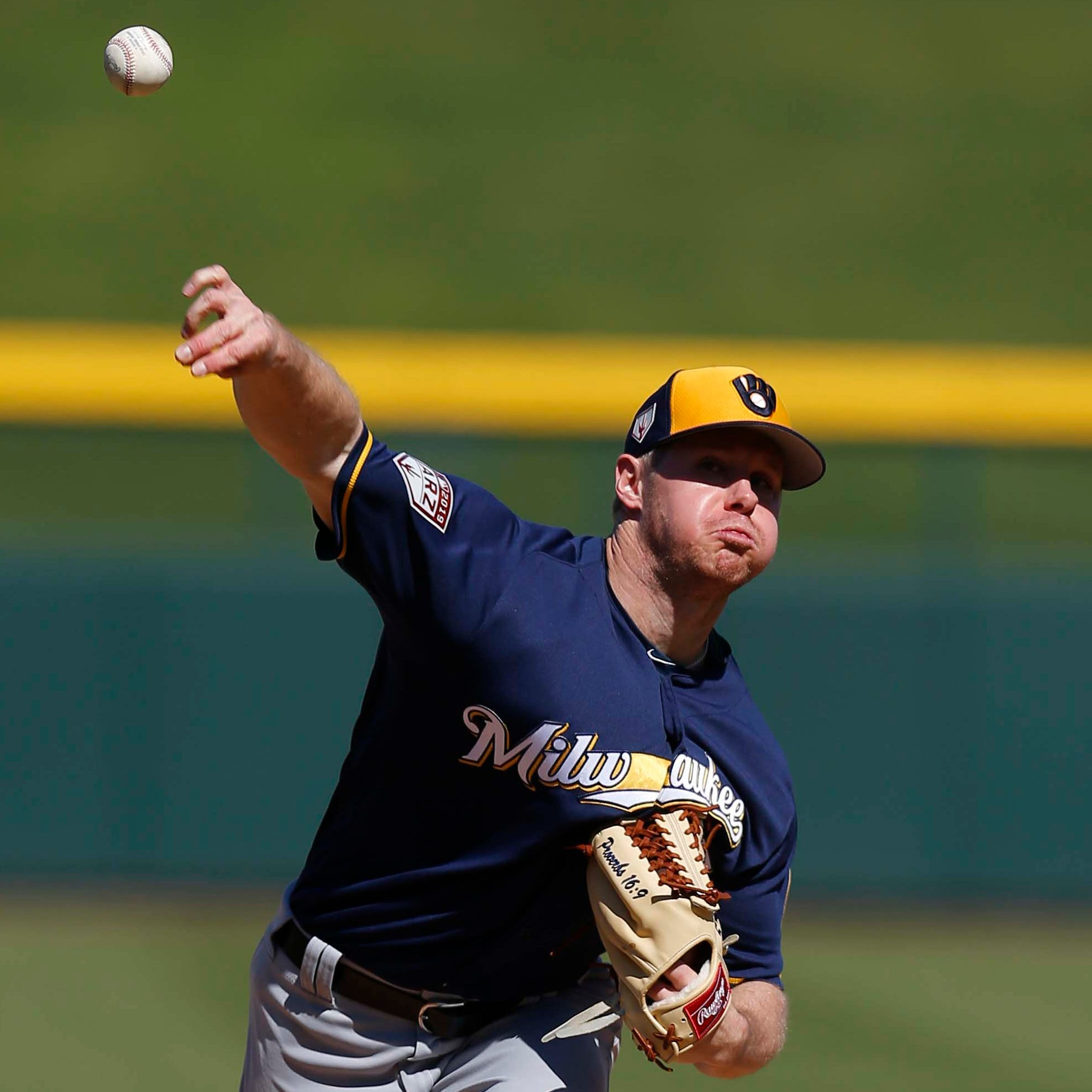 Competition for starting rotation begins as Brewers drop Cactus League opener to the Cubs