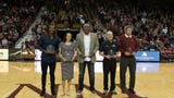 New Mexico State University inducted five former athletes into the Athletics Hall of Fame over the weekend.