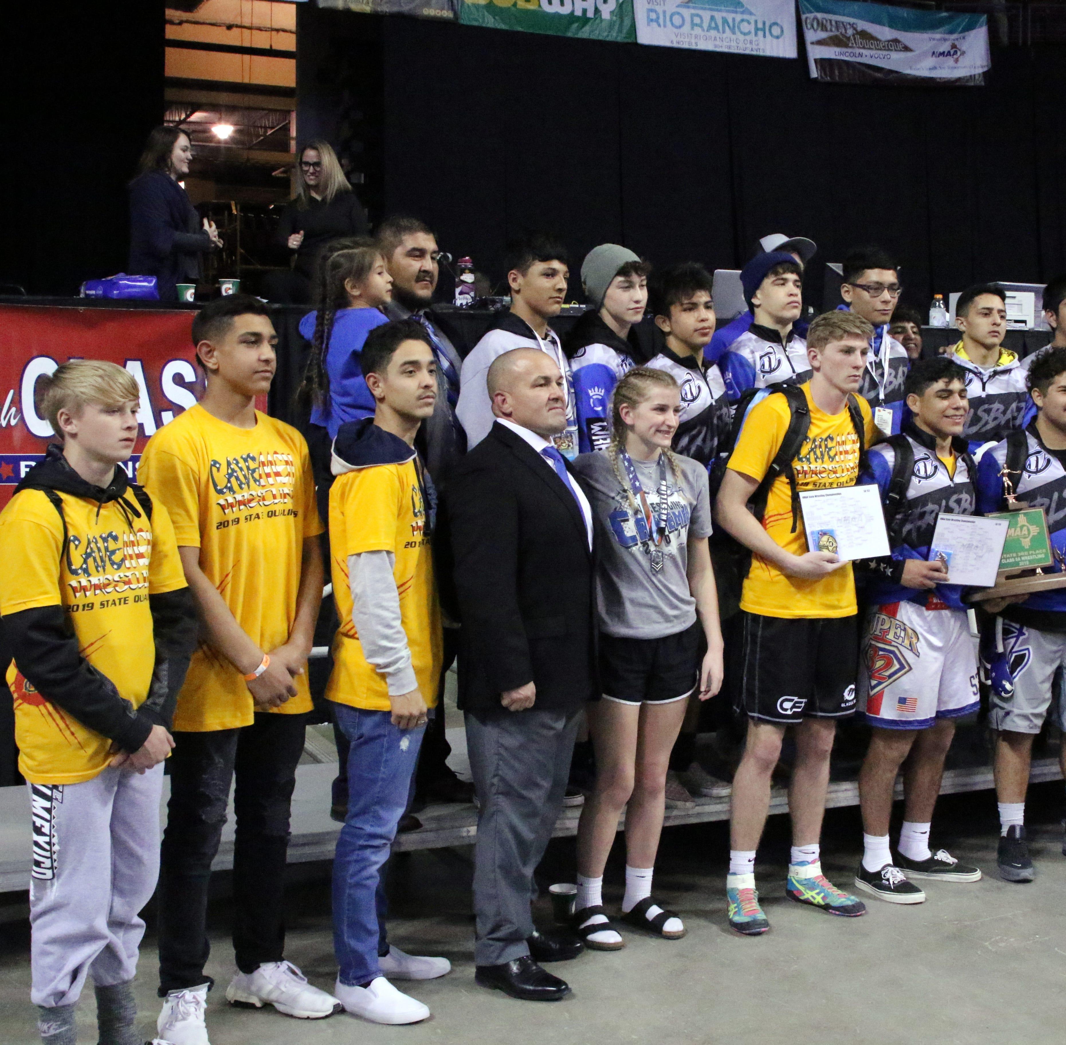 Cavemen take third at state, win three individual titles