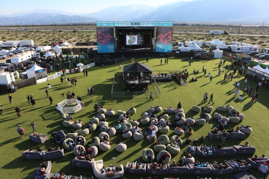 Thousands attended the inaugural Kind Music Festival on Saturday in Desert Hot Springs. It was held at the future site of Tyson Ranch Resort.