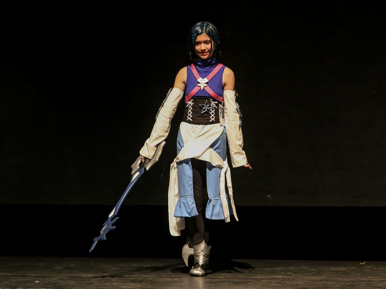 People compete in the Youth Division of the Pensacon cosplay contest presented by McGuire's Irish Pub at the Saenger Theatre on Saturday, February 23, 2019.