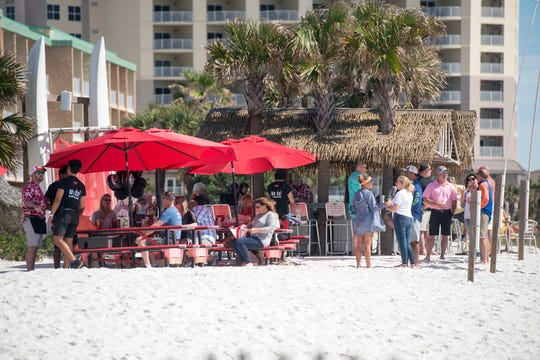 Pensacola Beach is bracing for record-breaking crowds this spring break.