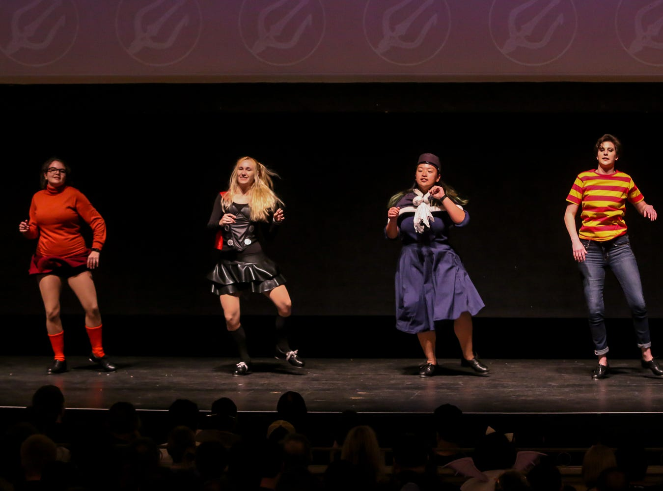 Tap dance ensemble Noise Complaint performs during the Pensacon cosplay contest presented by McGuire's Irish Pub at the Saenger Theatre on Saturday, February 23, 2019.