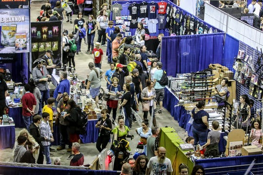 Pensacon 2020 returns Friday through Sunday and thousands of fans are expected to descend on Pensacola for the annual convention.