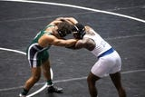 Check out highlights for all six YAIAA District 3 wrestling champs, including Dallastown's Jamal Brandon picking up a pin in overtime for the title.