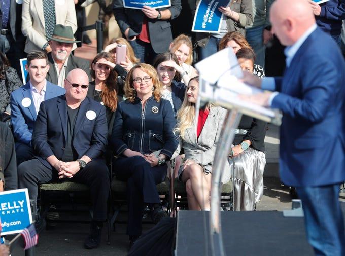Arizona Senate candidate Mark Kelly shuns corporate PACs ...
