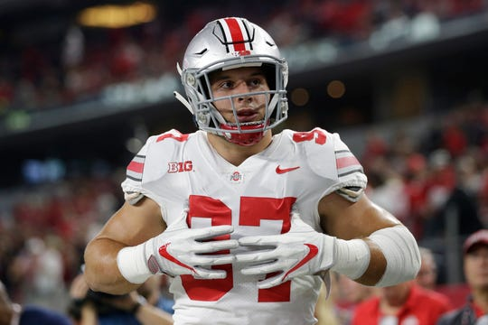 Nick Bosa had 17.5 sacks over 29 games for Ohio State as well as 29 tackles for loss and two forced fumbles.