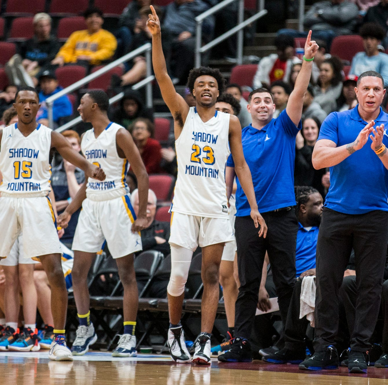 Mike Bibby's Shadow Mountain hoops dynasty adds another championship with rout of Deer Valley