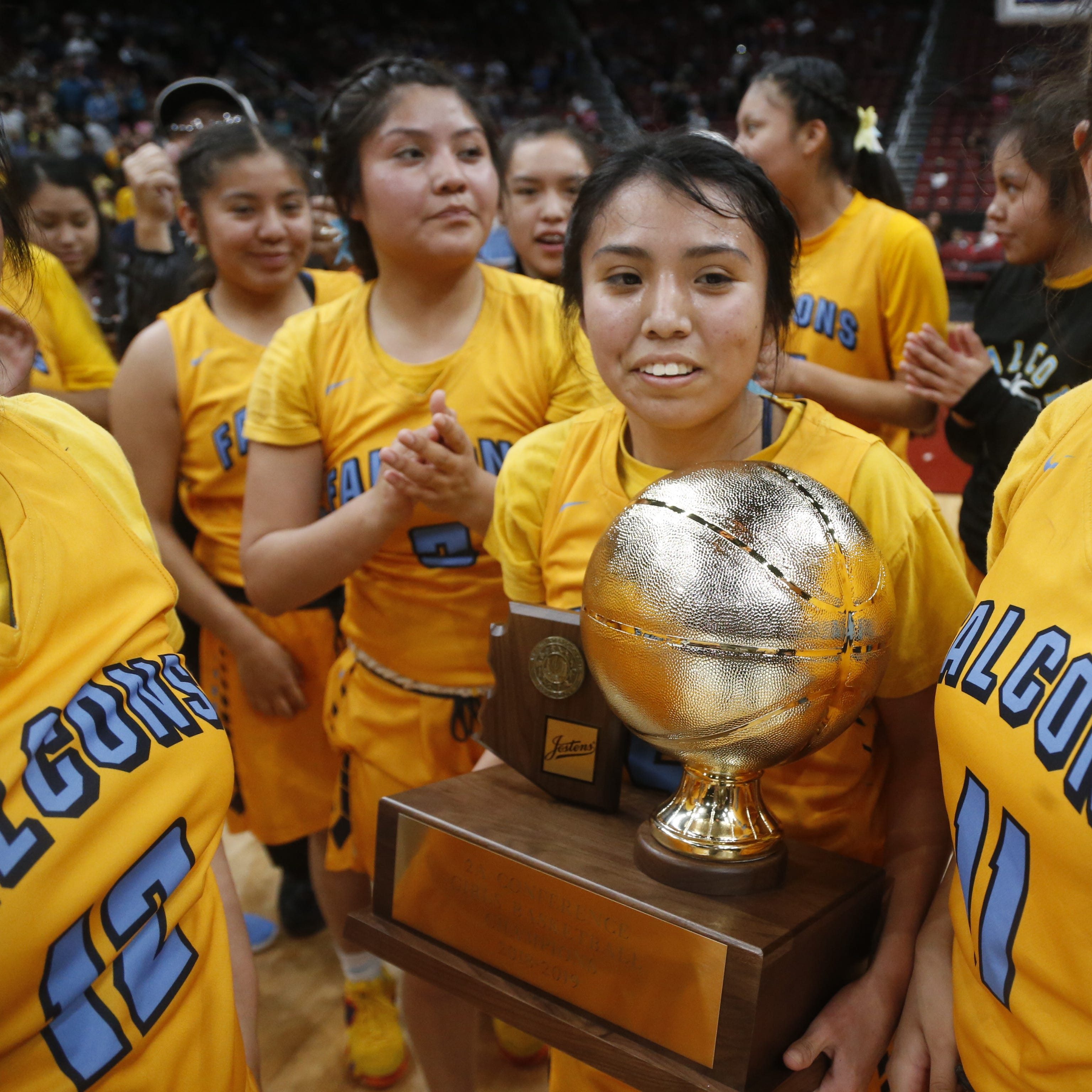 Alchesay girls cap wild weekend of rescheduling and uncertainty with 2A basketball title