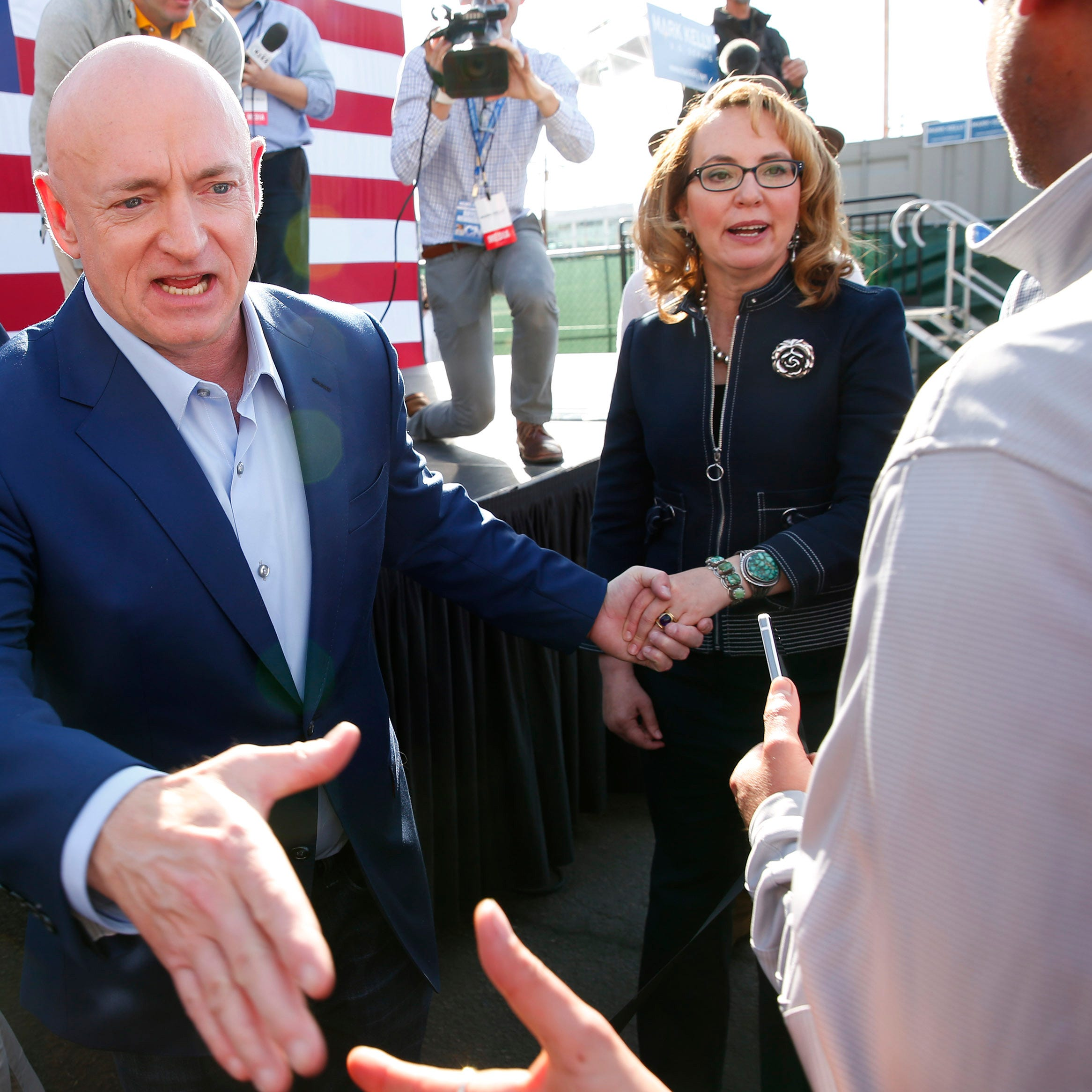 Mark Kelly launches his Senate bid in Phoenix: 'It's a mission for Arizona'