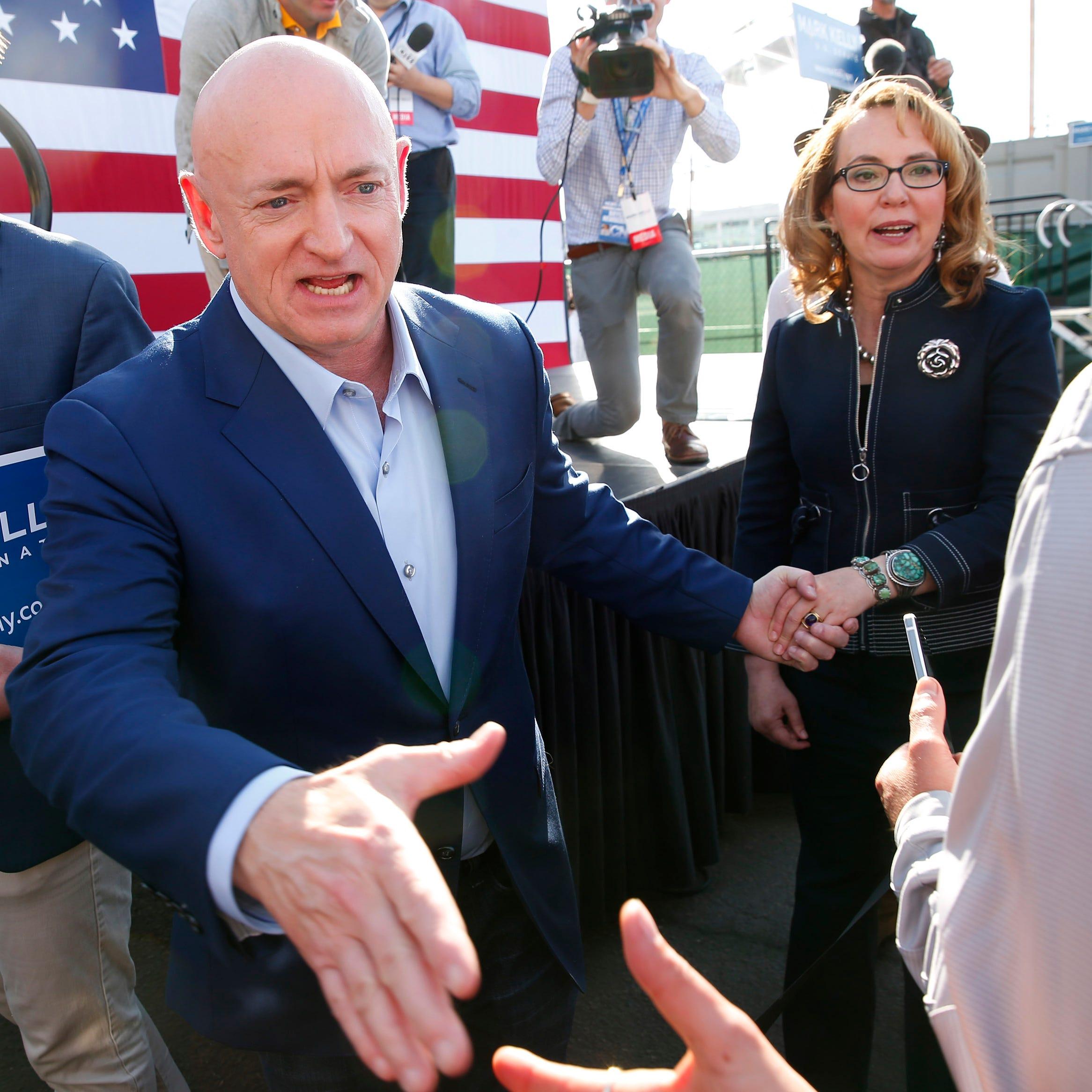 Senate hopeful Mark Kelly raised $4 million in first fundraising haul