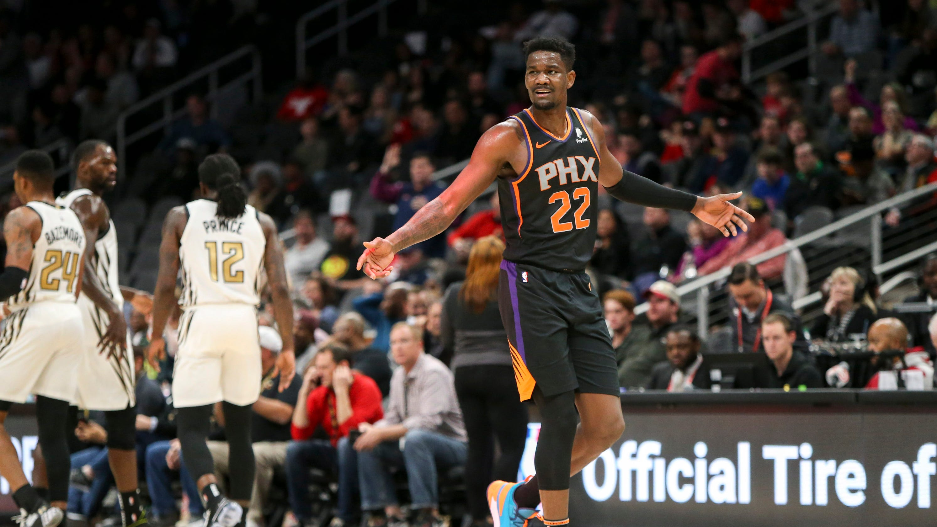 Ayton-isms  Best of Phoenix Suns rookie Deandre Ayton s quotes – so far 889ca8621
