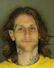 Jake Werland, arrested for fleeing and eluding and resisting arrest.