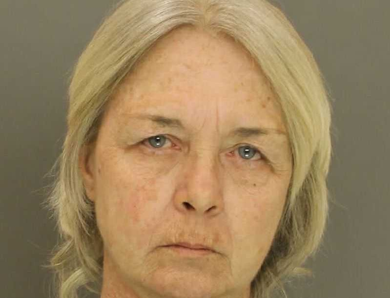 Cynthia Pierozak, arrested for harassment.
