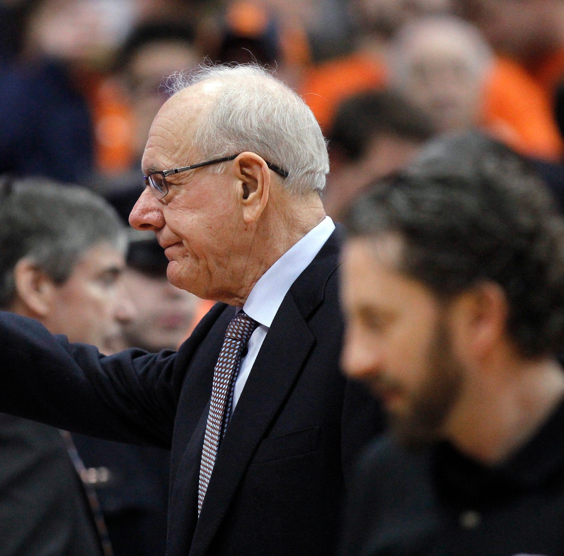 Jim Boeheim gets standing ovation before Duke game; Syracuse honors man killed in crash