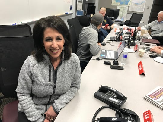 County Executive Cheryl Dinolfo and her team preparing to wind storm