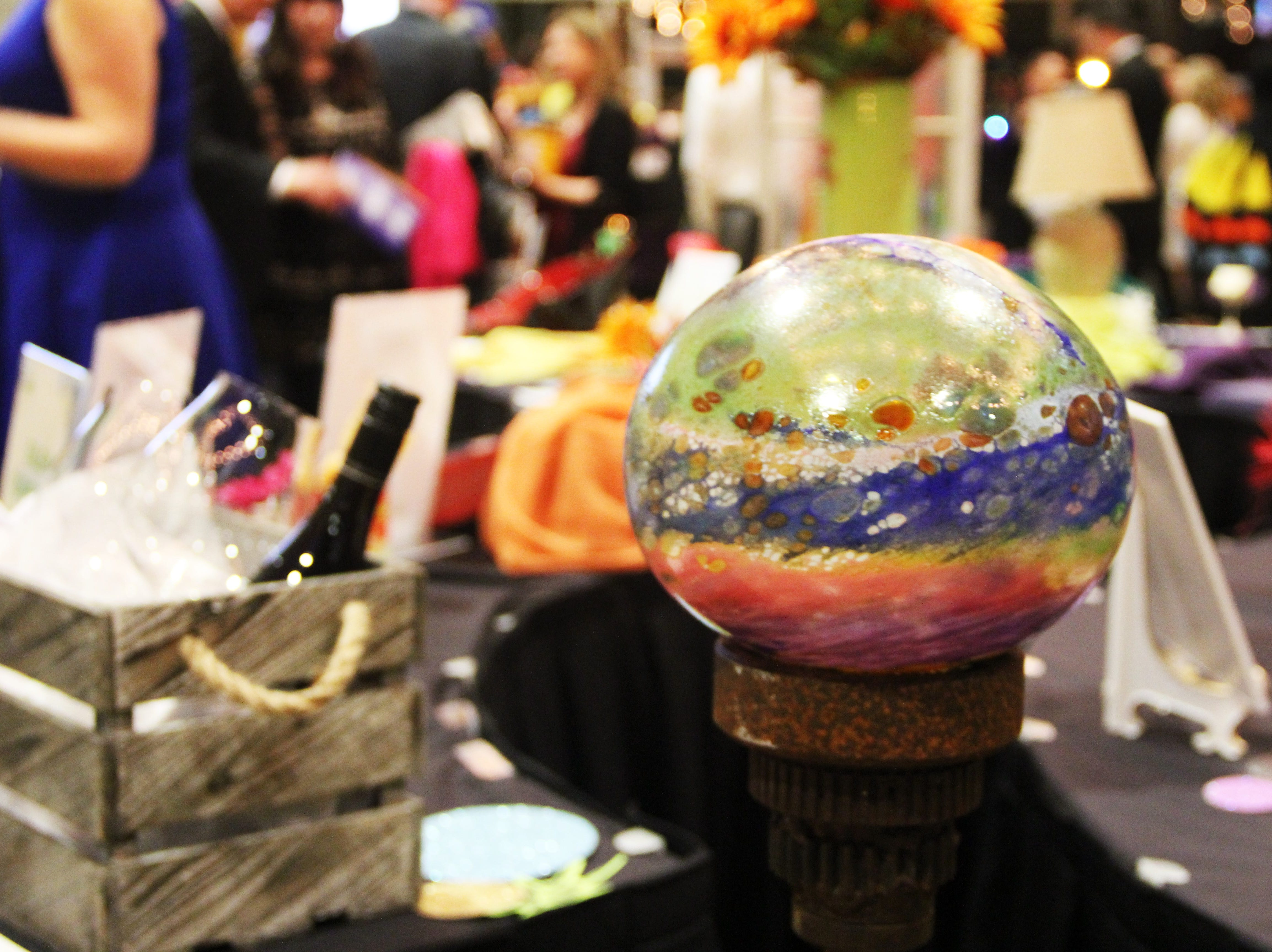 An item featured in the silent auction at the 20th Annual Clay Ball on Saturday, Feb. 23.