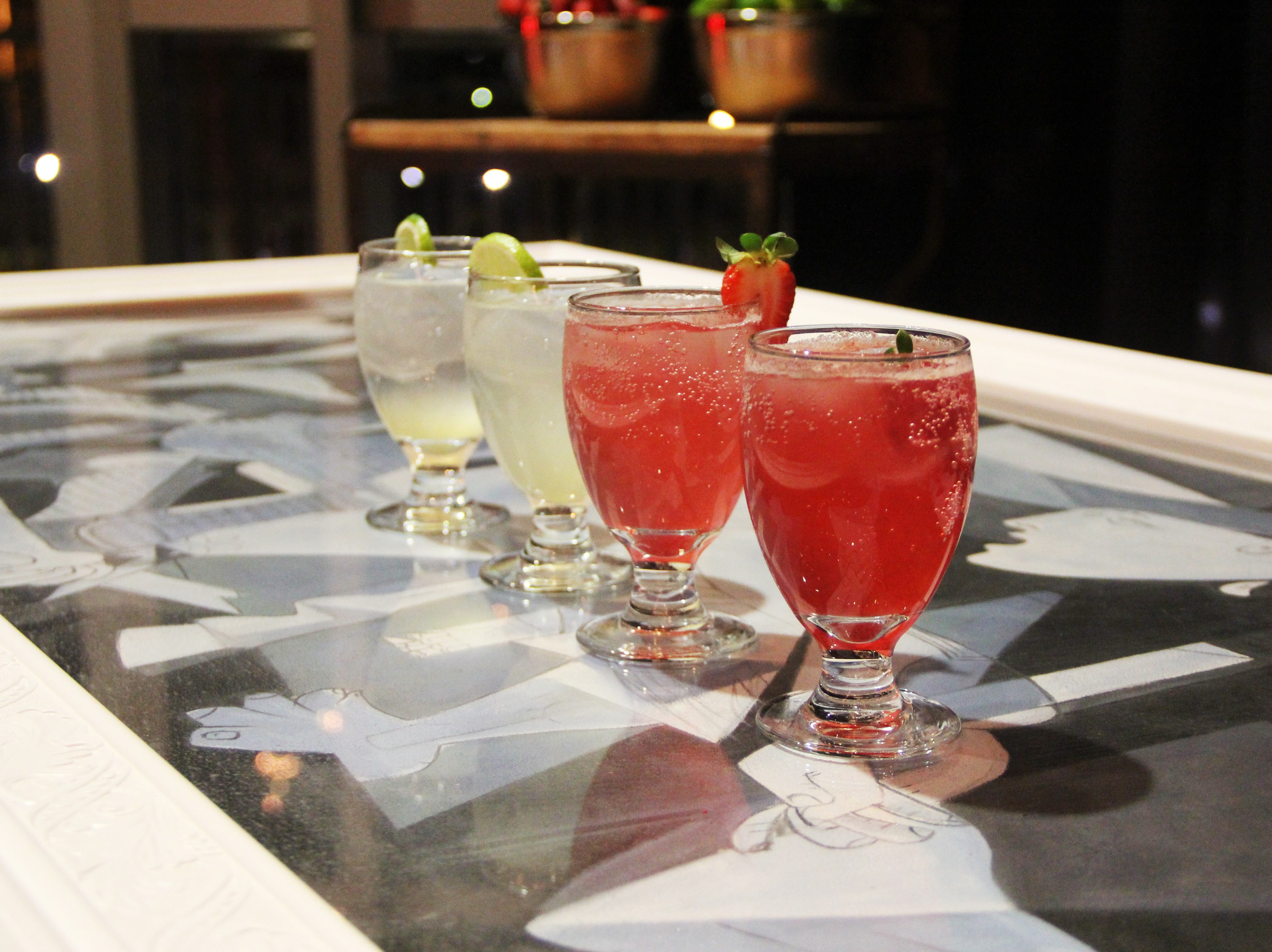Non-alcoholic shrubs from Taproot Lounge & Cafe at the 20th Annual Clay Ball on Saturday, Feb. 23.