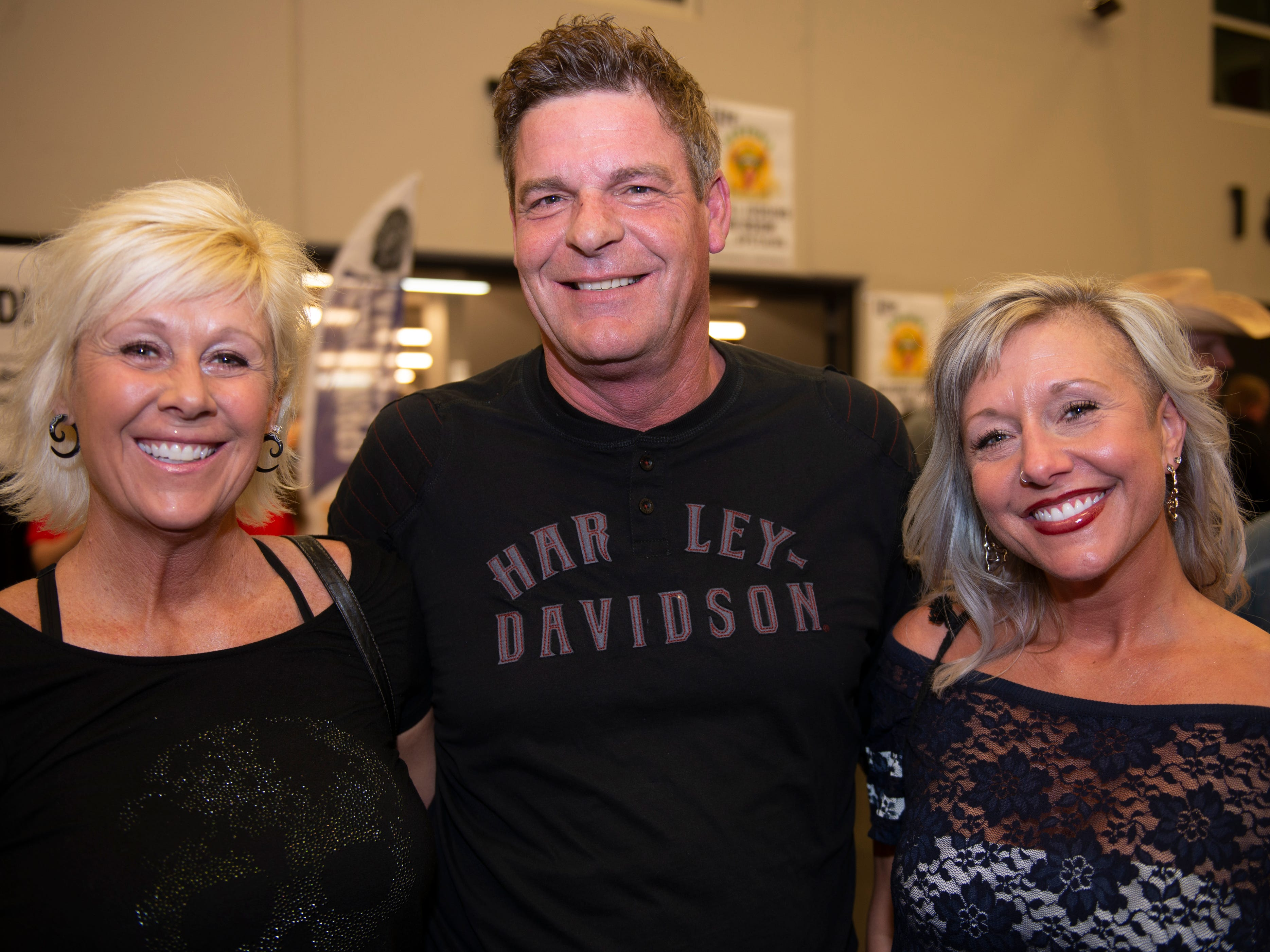 Corrie Mooney, David and Cassie Lawrence