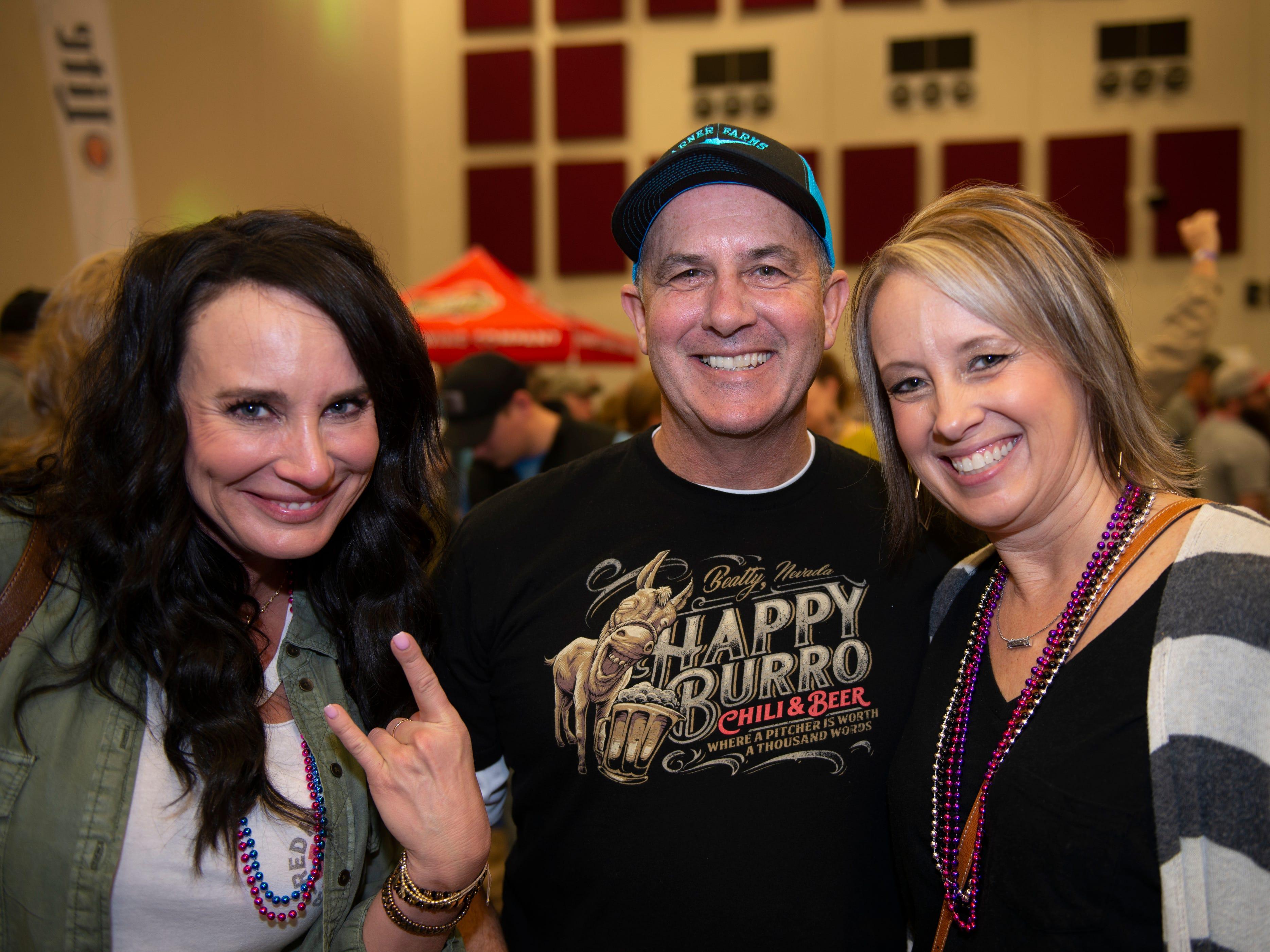 Kathy Maynard, Jim Maynard, Tracy Gray
