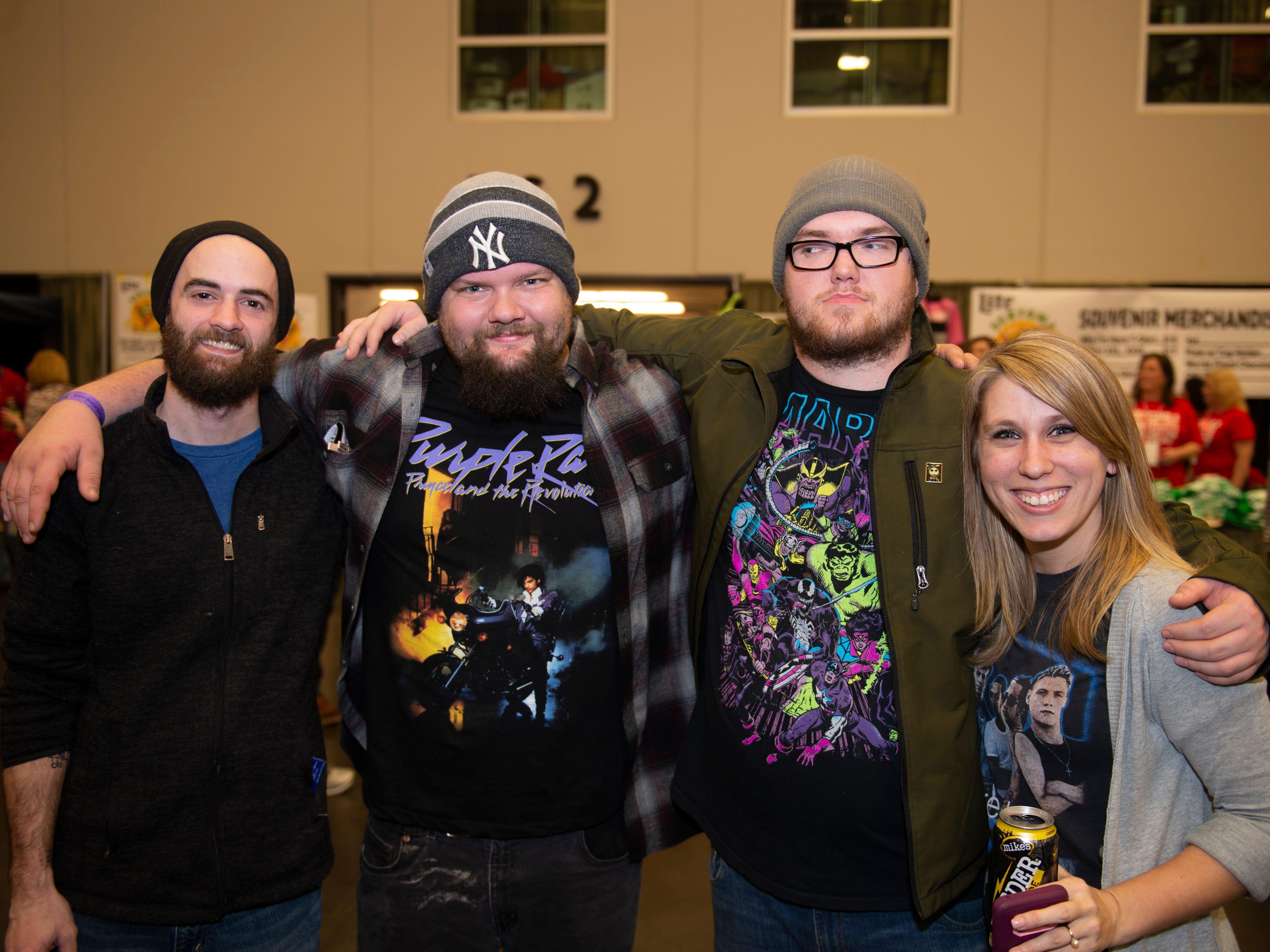 Mega Olson, Zach Melton, Matt Preston, Kyle Loomis