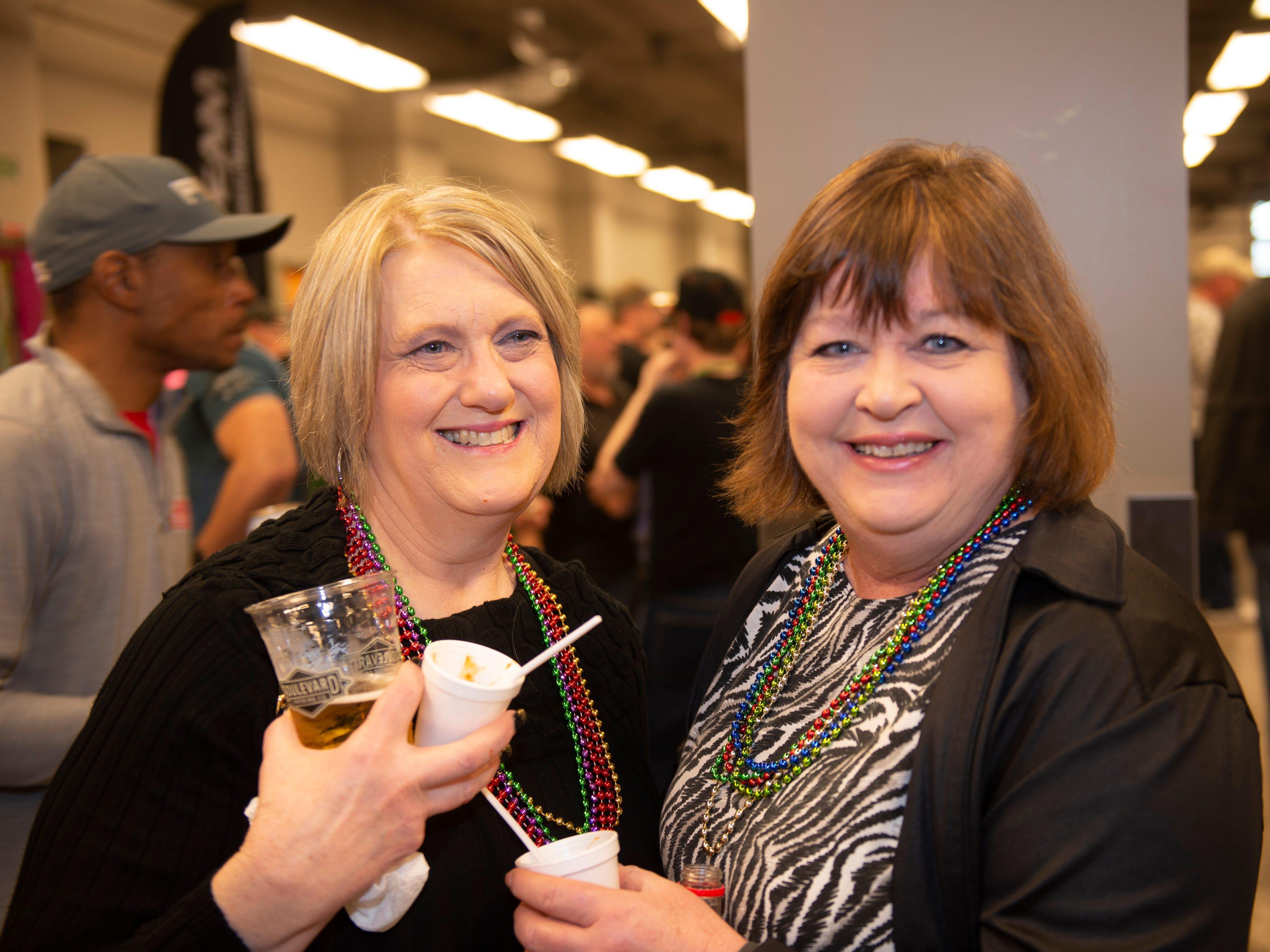 Beth Colwell and Karen Casada