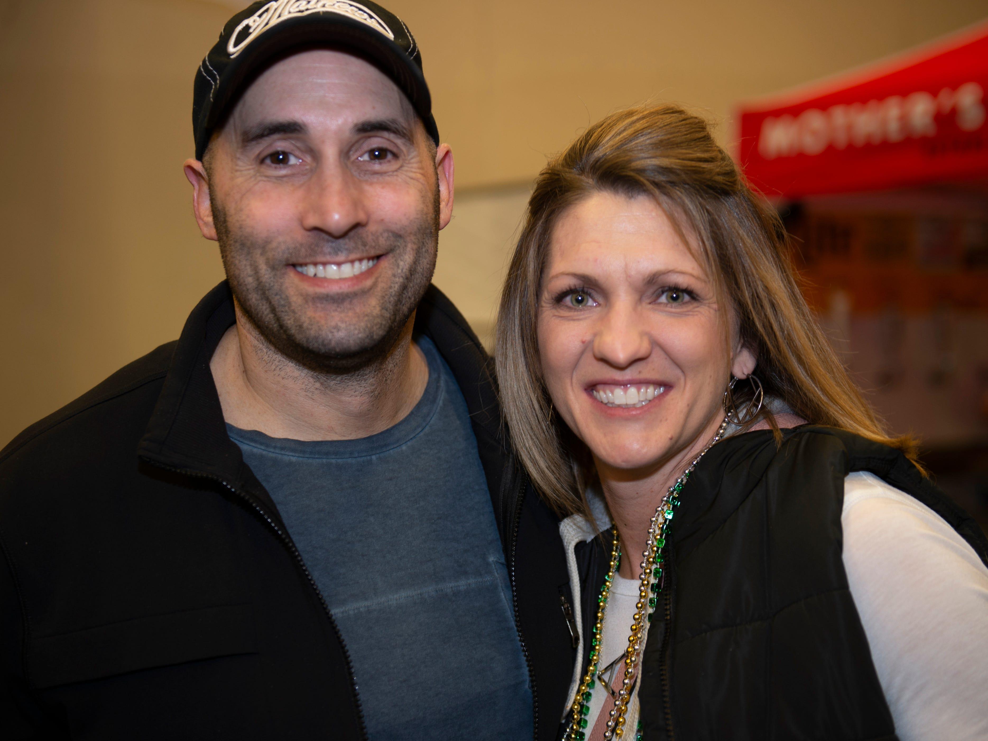 Angie and Tony Cauchi