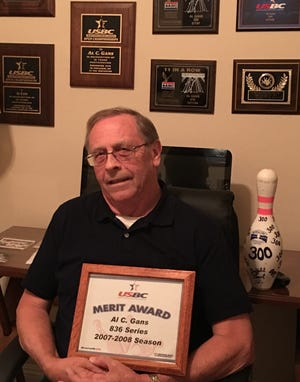 Al Gans is in his first year of bowling in Mesquite after years of bowling in the state of Washington. He just fired his first 700 in Mesquite, a 701 that included 23 strikes. He currently has a 206 average.