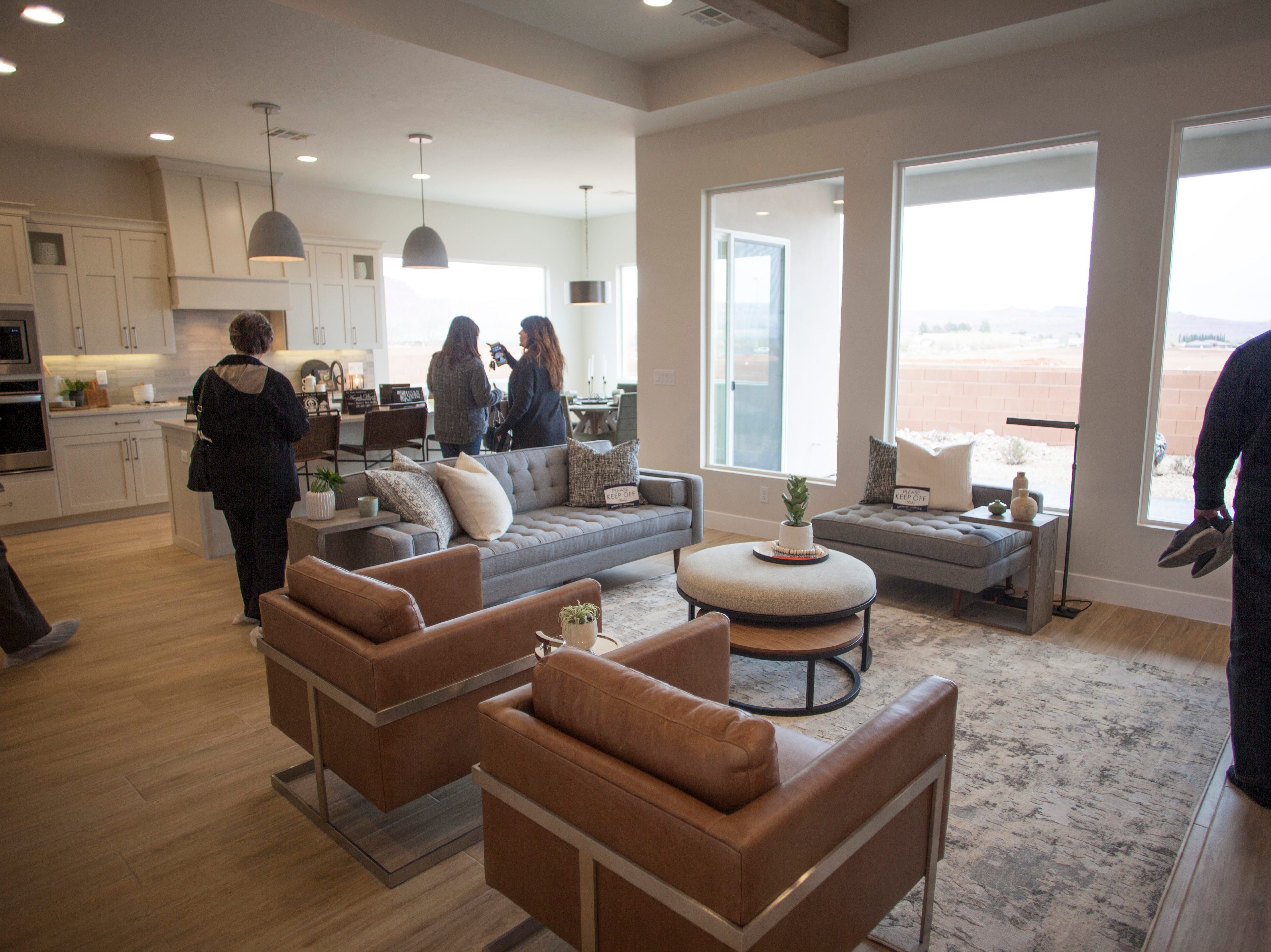 House number 18, The Haven at Heritage Acres, on the 2019 Parade of Homes Saturday, Feb. 23, 2019.