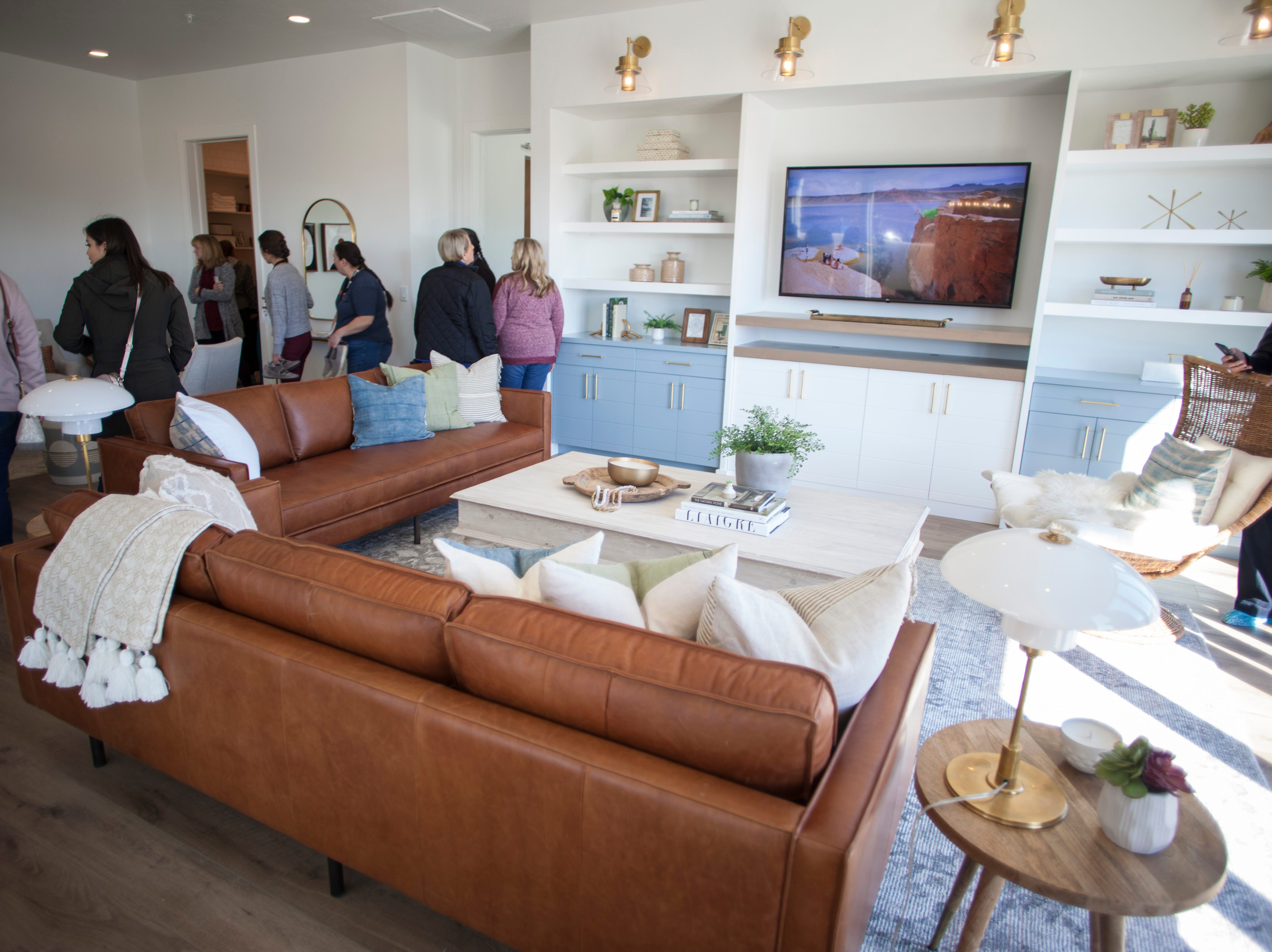 House number 3, The Eighth at Coral Canyon, on the 2019 Parade of Homes Saturday, Feb. 23, 2019.