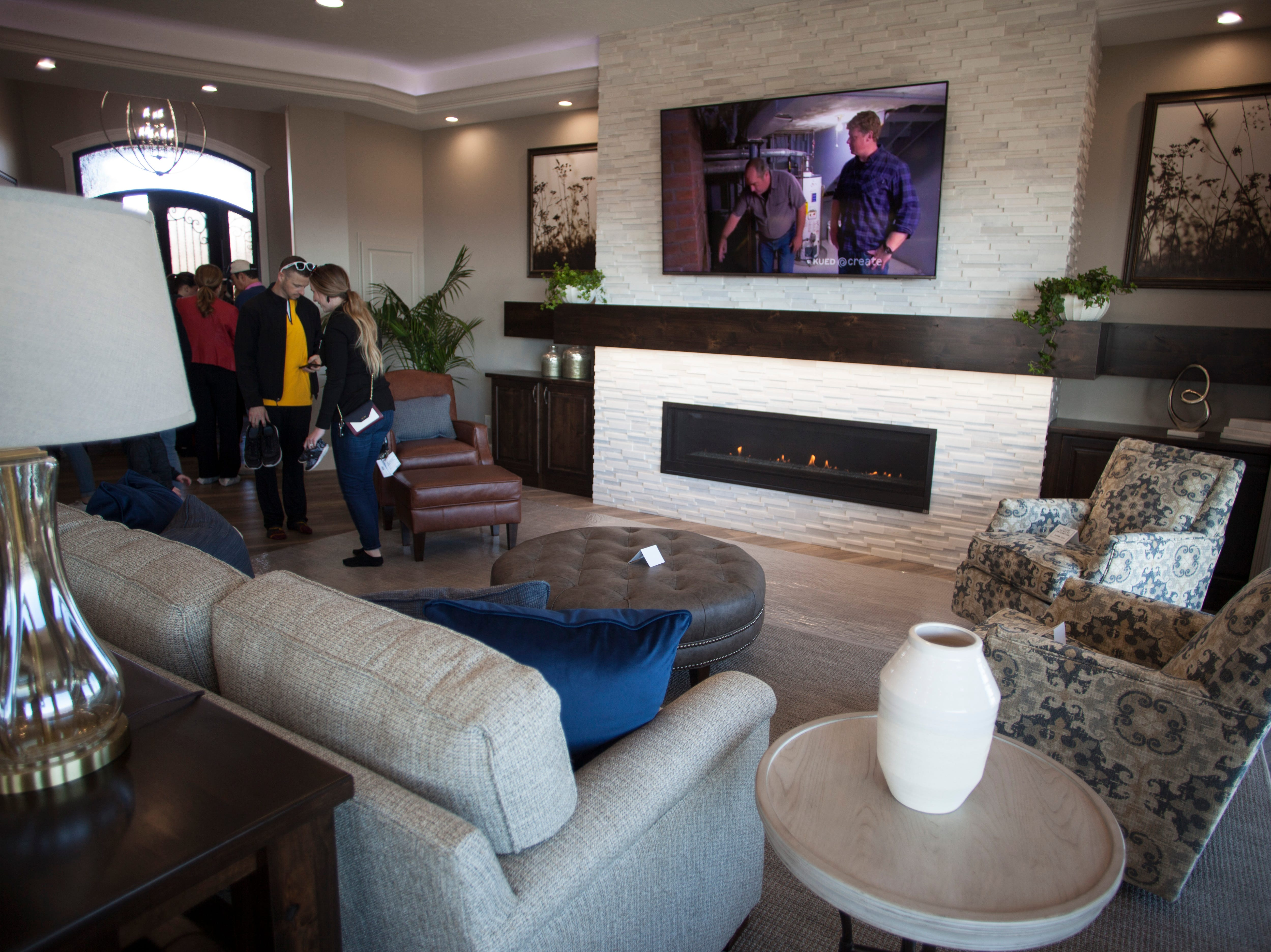 House number 1, Bella Vista at Stone Mountain, on the 2019 Parade of Homes Saturday, Feb. 23, 2019.