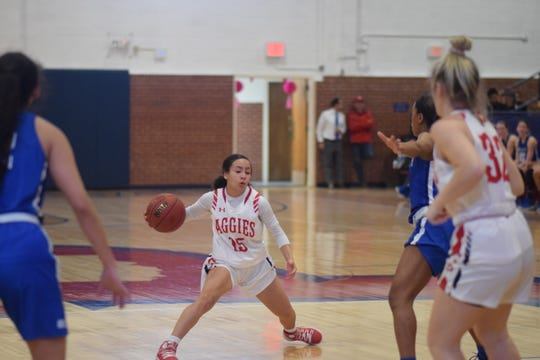 Former Parkland basketball player Kaylee Morgan has been a standout this season for Oklahoma Panhandle State University along with her sister Taylor Acosta.