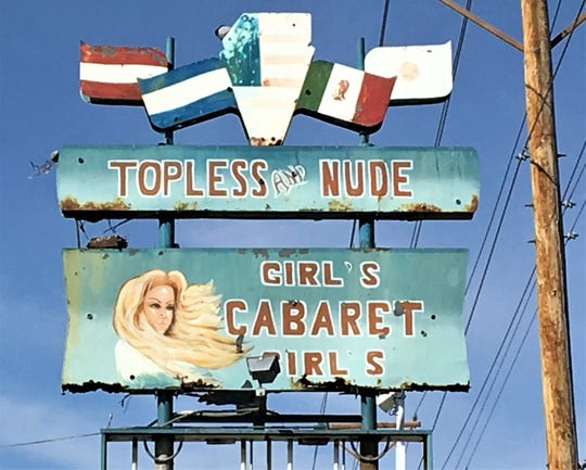 The Cabaret strip club is located at 4834 Montana Ave. in Central El Paso.