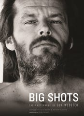"""Big Shots: The Photography of Guy Webster"" features a foreward by Brian Wilson. On the cover is actor Jack Nicholson."