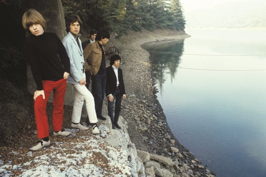 """Guy Webster took The Rolling Stones to one of the reservoirs in Franklin Canyon above Beverly Hills for the cover shoot for the 1966 album, """"Big Hits"""" album subtitled """"High Tide and Green Grass."""" It was at his then-girlfriend's ranch, Webster told The Star."""