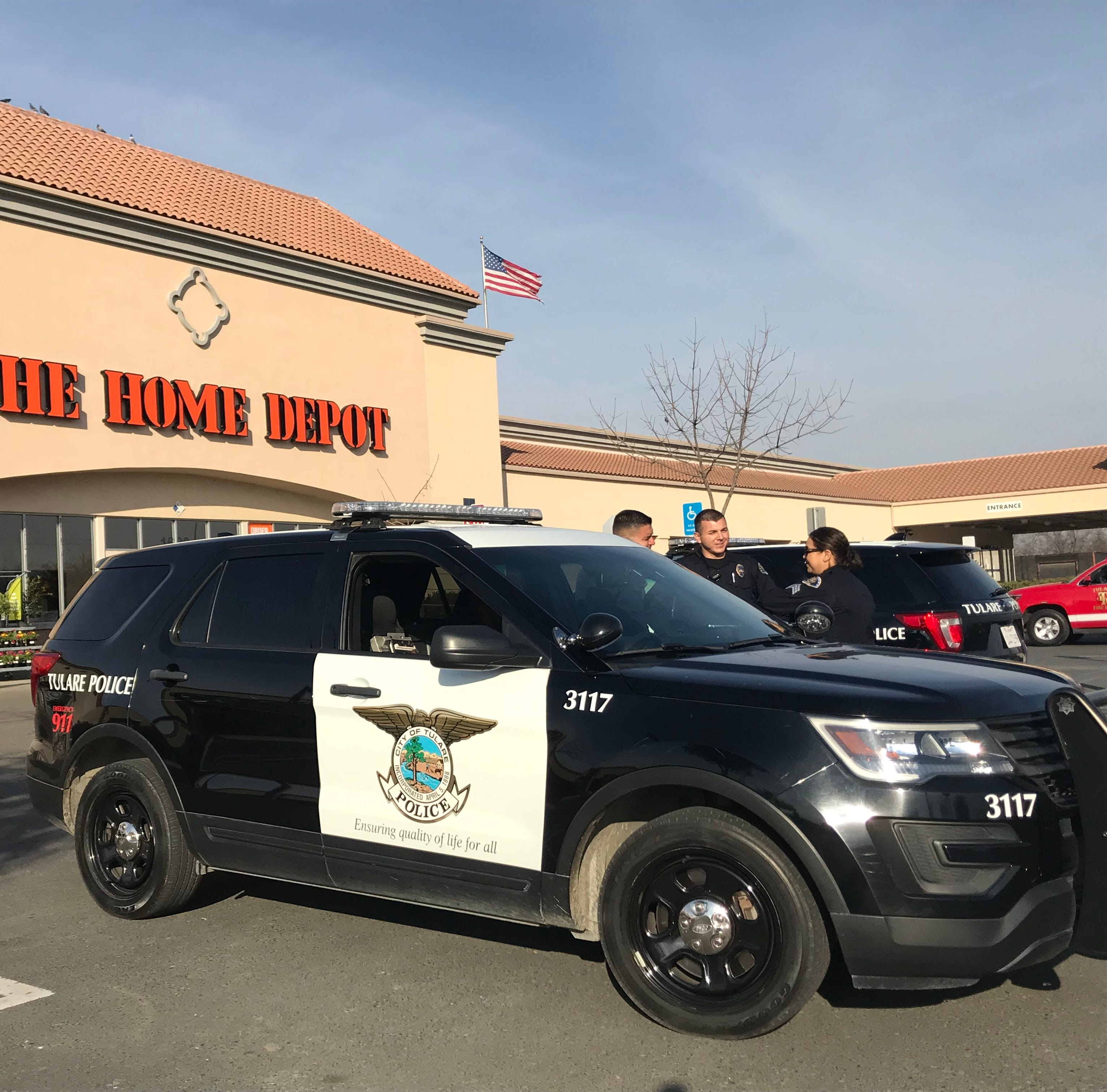 Bomb scare closes Home Depot in Tulare
