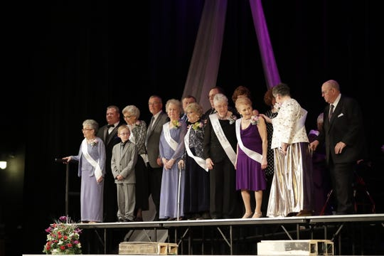 The first annual Wausau Area Silver Pageant event held Saturday, Feb. 23, at Wausau East High School Auditorium in Wausau, Wis.