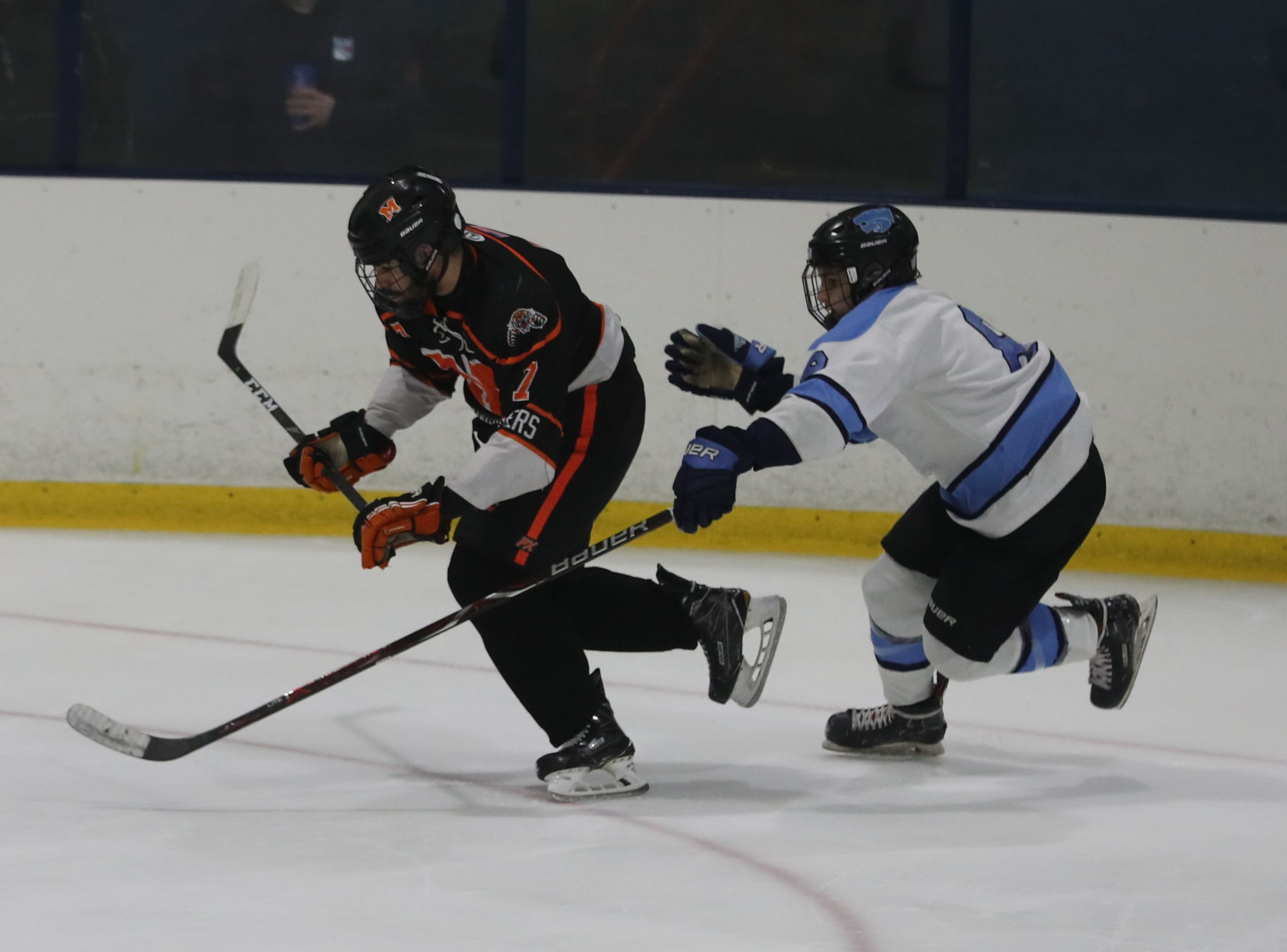 Suffern defeated Mamaroneck 4-1 in the Section 1 Division 1 championship game at Sport-o-Rama in Monsey Feb. 24, 2019.