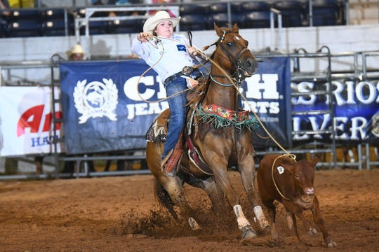 Andee Shae Nored, high school rodeo competitor from Bowie, has been selected as one of three students to be honored in a new program recognizing future stars through the Texas Rodeo Cowboy Hall of Fame.
