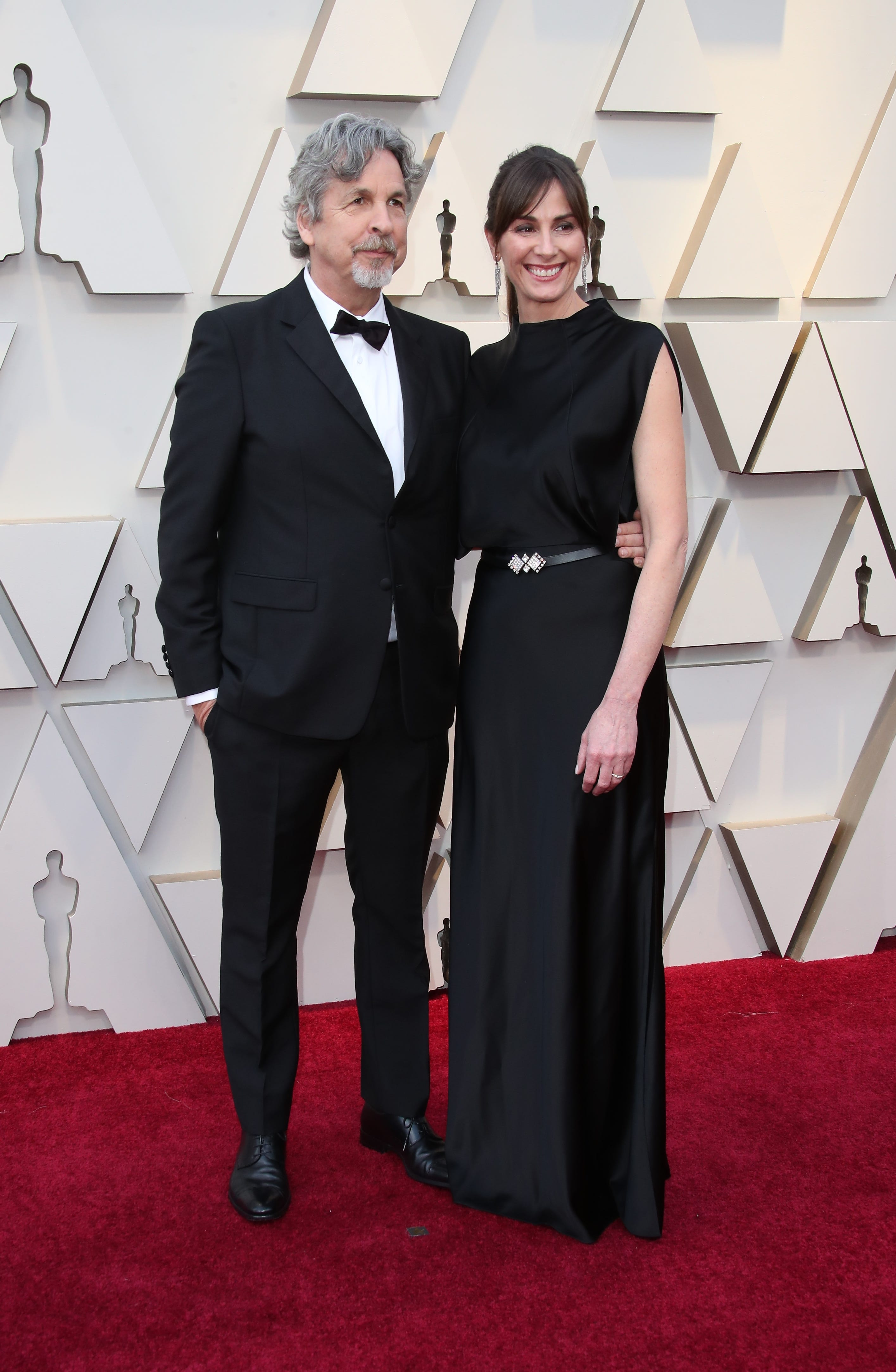 February 24, 2019; Los Angeles, CA, USA; Peter Farrelly, left and Melinda Farrelly arrive at the 91st Academy Awards at the Dolby Theatre. Mandatory Credit: Dan MacMedan-USA TODAY NETWORK (Via OlyDrop)