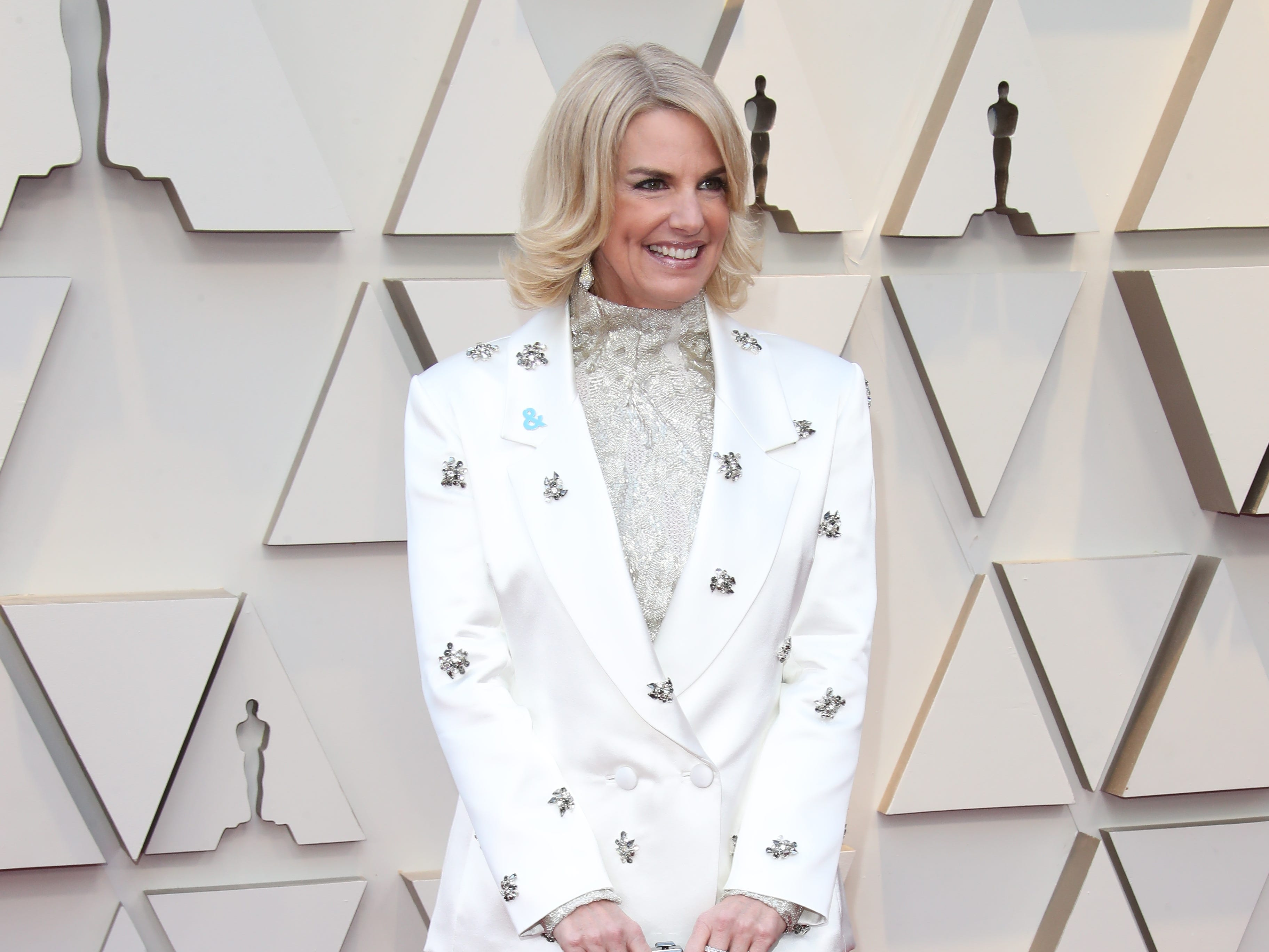February 24, 2019; Los Angeles, CA, USA; Sarah Kate Ellis arrives at the 91st Academy Awards at the Dolby Theatre. Mandatory Credit: Dan MacMedan-USA TODAY NETWORK (Via OlyDrop)